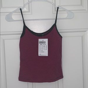 NWT Brandy Melville striped tank top